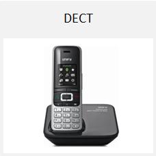 mobiele dect telefoon