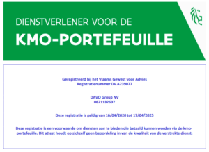 DAVO GRoup KMO portefeuille