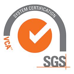 sgs vca** certificaat